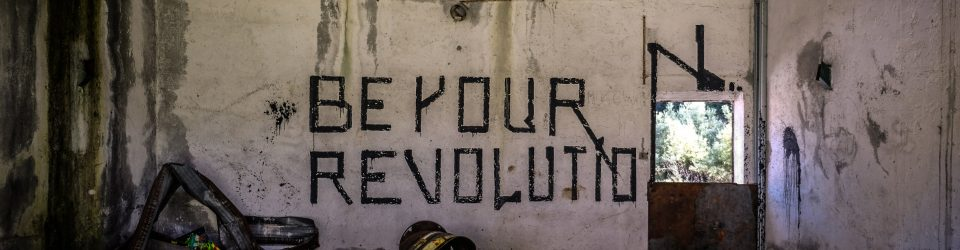 Be Your Revolution painted