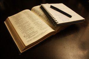 book, bible, text