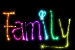 family, font, star