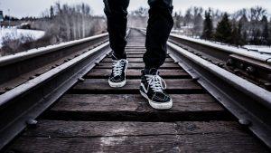 shoes, walking, railroad tracks-1245920.jpg